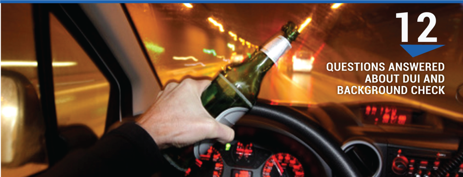 Questions Answered About DUI and Background Check